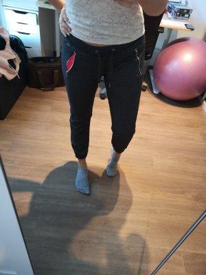 Jogginghose grau pink