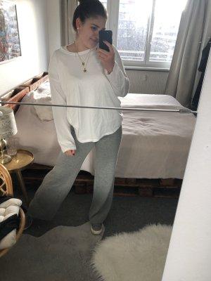 Primark Pantalone a zampa d'elefante grigio