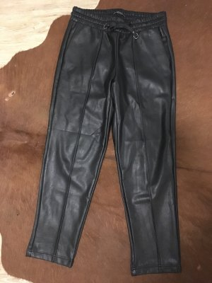 Guess Pantalone in pelle nero