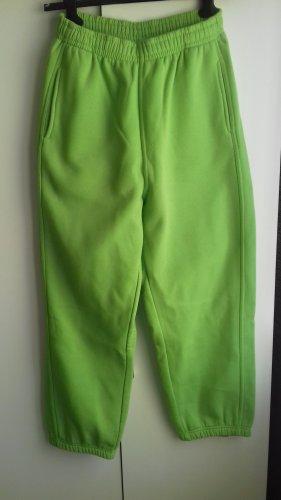 Urban Classics Pantalone boyfriend verde neon