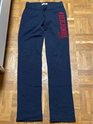 Abercrombie & Fitch Sweat Pants dark blue-bordeaux