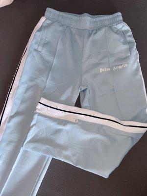 Palm angels Pantalón de campana azul claro-azul bebé