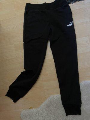 Puma Spodnie sportowe czarny-biały