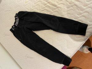 Gym Shark Pantalone fitness nero-bianco