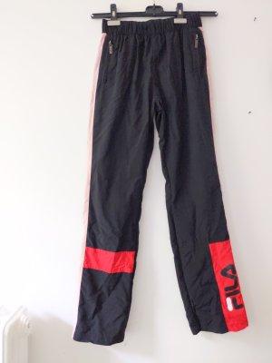 Jogginghose • Sporthose • Fila • XS • schwarz rosa rot