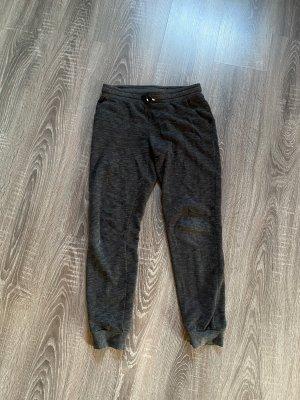 Jogginghose sporthose H&m dunkelgrau grau meliert