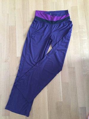 Jogginghose Sporthose Yogahose Hose lila violett pink Gr 38