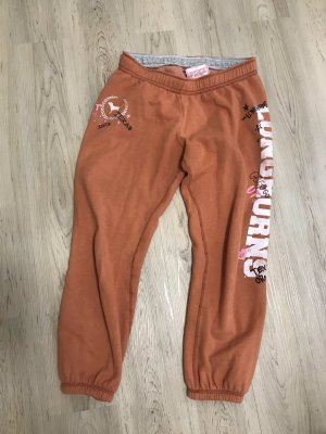 Pink Victoria's Secret Pantalón deportivo naranja