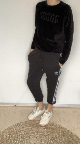Adidas Originals Lage taille broek zwart-wit