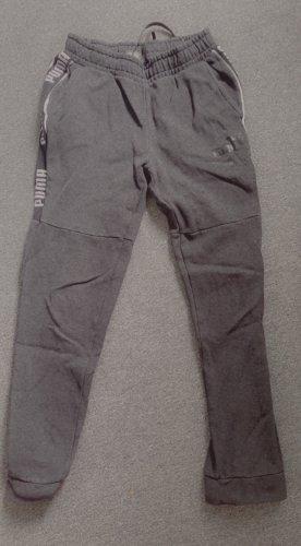 Puma Pantalon en jersey gris clair-gris