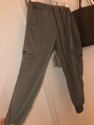 Zara Pantalon «Baggy» kaki