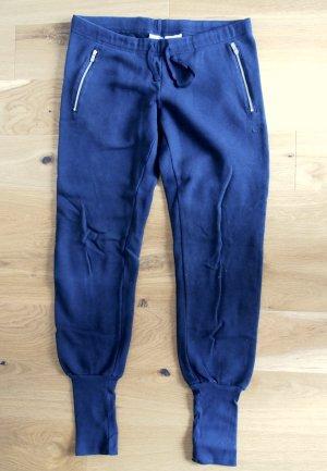 Jogginghose Yogahose Sporthose Sweatpants mit breiten Bündchen