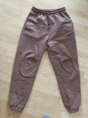 Zara Pantalón deportivo lila grisáceo-malva