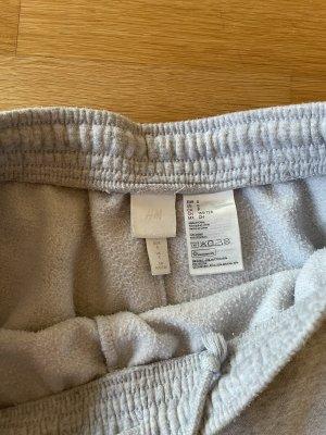 H&M Woolen Trousers black-light grey