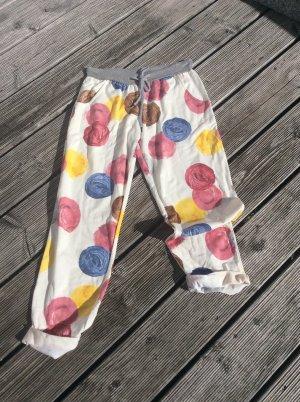 italienische Mode Pantalone alla cavallerizza multicolore