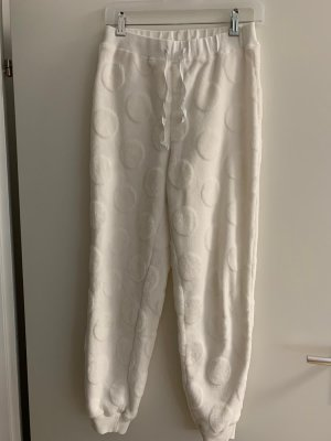 H&M Woolen Trousers white