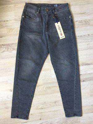 Diesel Boyfriend Jeans black-dark grey
