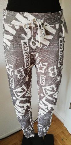 Made in Italy Pantalone elasticizzato multicolore