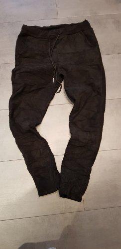 Made in Italy Pantalone elasticizzato nero