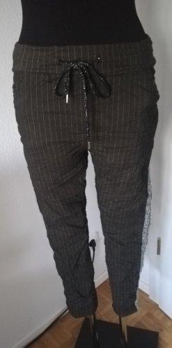 Made in Italy Pantalon strech vert foncé