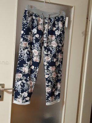 Made in Italy Pantalone alla cavallerizza blu