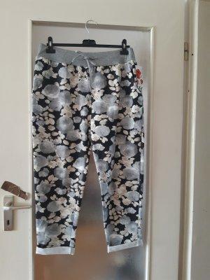 Made in Italy Spodnie typu boyfriend jasnoszary