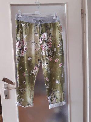 Made in Italy Spodnie typu boyfriend jasnozielony