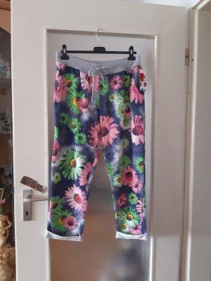 Made in Italy Spodnie typu boyfriend niebieski