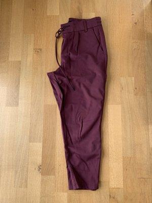 Spodnie dresowe głęboka czerwień