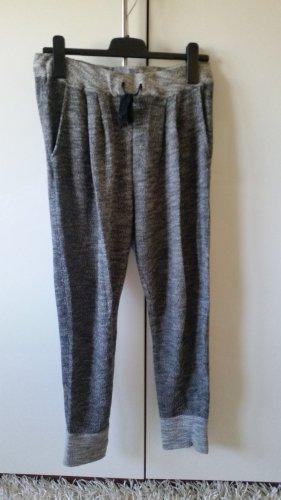 H&M Pantalone da ginnastica grigio scuro-grigio chiaro Tessuto misto