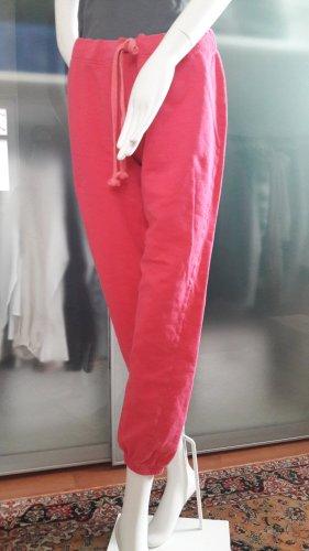 H&M Spodnie dresowe różowy Bawełna