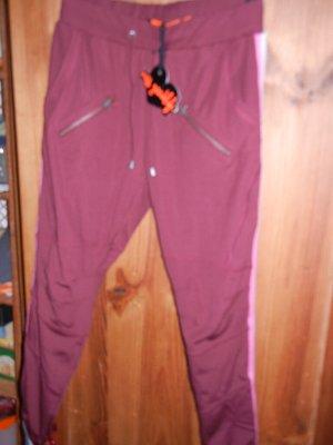 Jogpant, Schlupfhose, Joggpants mit Galonstreifen Gr. S = 36 pink-grau Streifen NEU Miss Goodlife