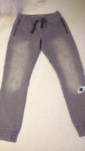 Baggy jeans grijs