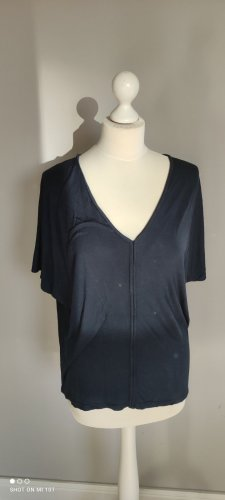 Johanna K Shirt Baumwolle blau Gr M/L