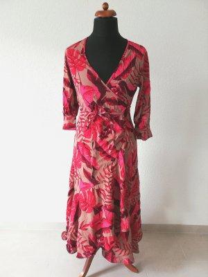 Johanna Ortiz x H&M Wickelkleid aus Crêpe