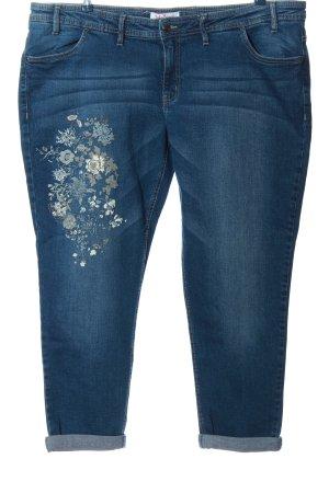 John Baner Jeans 7/8 bleu style décontracté