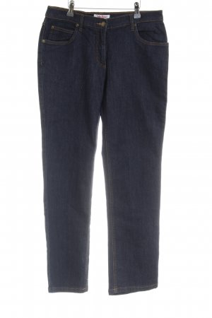 John Baner 7/8 Jeans dunkelblau klassischer Stil