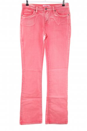 John Baner Boot Cut Jeans pink Casual-Look