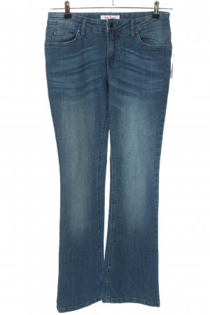 John Baner Boot Cut Jeans blau Casual-Look