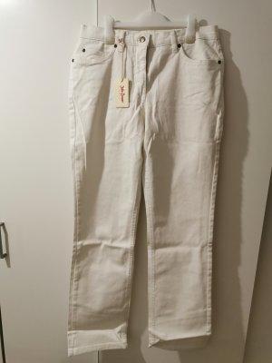 John  Baner Damen Jeans weiß Straight fit Größe 42 NEU