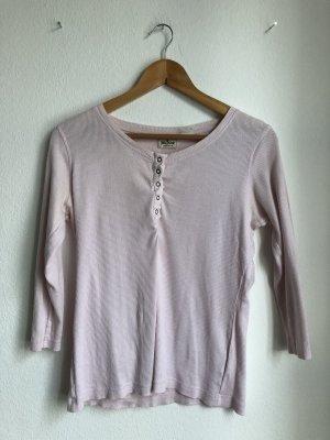 John Baner Camicia lunga rosa chiaro-rosa pallido