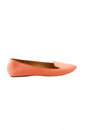 John Baner faltbare Ballerinas pink Business-Look