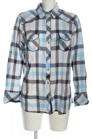 John Baner Blusa-camisa estampado a cuadros estilo «business»