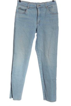 John Baner Jeans a vita alta blu stile casual
