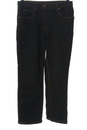 John Baner High Waist Jeans schwarz Casual-Look