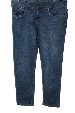 John Baner Jeans taille basse bleu style décontracté
