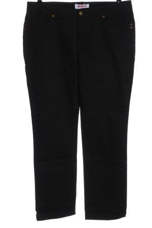 John Baner Jeans vita bassa nero stile casual