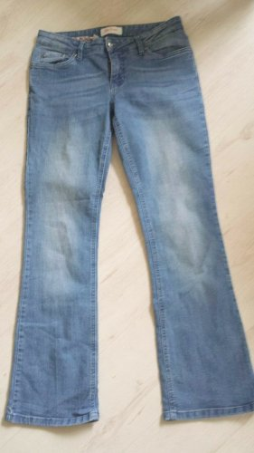 John Baner Jeans skinny blu acciaio-blu fiordaliso Cotone