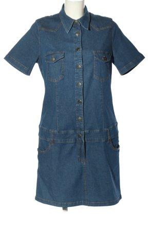 John Baner Jeanskleid blau Casual-Look