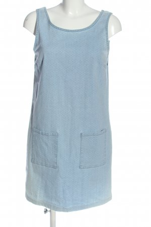 John Baner Jeanskleid blau Allover-Druck Casual-Look
